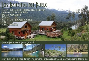caba�as en llanada grande, cocham� patagonia chilena