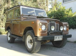 jeep land rover santana, diesel, 1980, impecable, todo original