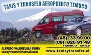 taxis y transfer aeropuerto, temuco, pucon ,huilo huilo pichoy