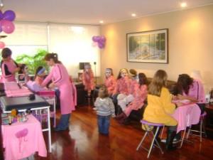 party spa girls  cumplea�os para ni�as spa  www.urbanwoman.cl
