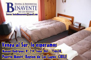 hostal & residencial en puerto montt - hostal benavente