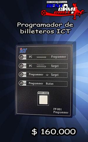 programador de billeteros ict/precio: $ 160.000 pesos