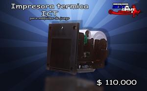 impresora termica ict precio: $ 110.000 pesos
