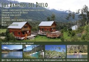 cabañas en llanada grande, cochamó patagonia chilena