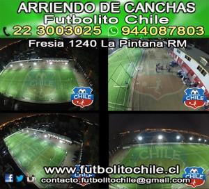 arriendo de canchas futbolito chile/complejo deportivo futbolito chile