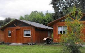 cabañas en coñaripe para 8 personas ceca del lago y centro $ 65.000