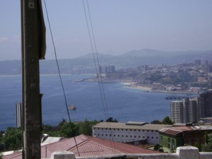 arriendo diario casa amoblada a 5 minutos del centro en valparaiso