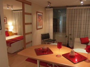 furnished aparments in downtown santiago de chile