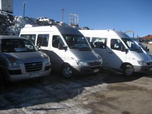 minibuses, santiago, valparaiso, vi�a del mar, nieve, aeropuertos