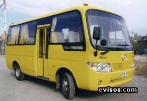 arriendo minibus para turismo