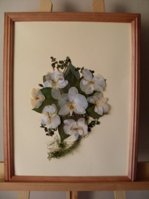 enmarcado de ramos de novia enmarcado de ramos de novia