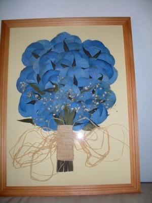 ::: ramos prensados esteticamovil conservados para toda la vida